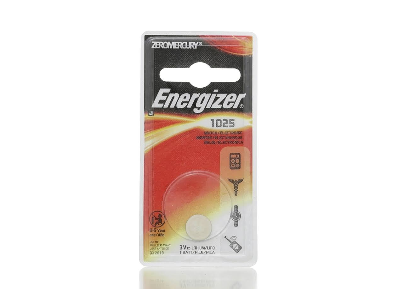 Energizer 1025 Lithium Coin Battery - 3V