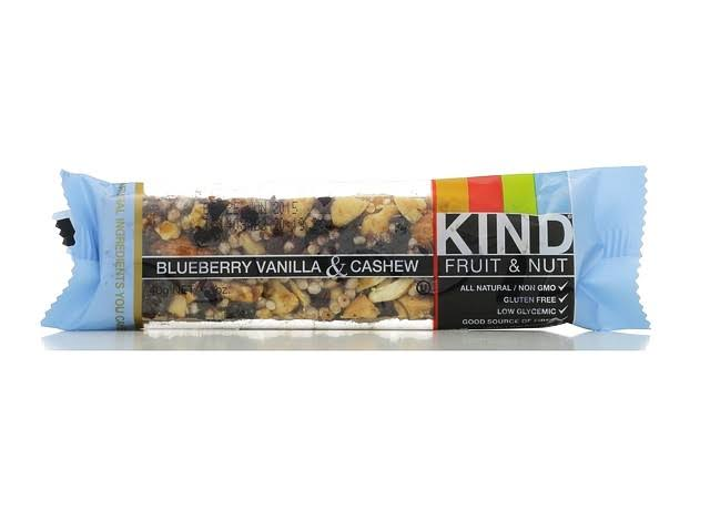 Kind Bar - Blueberry Vanilla and Cashew, 12 Bars