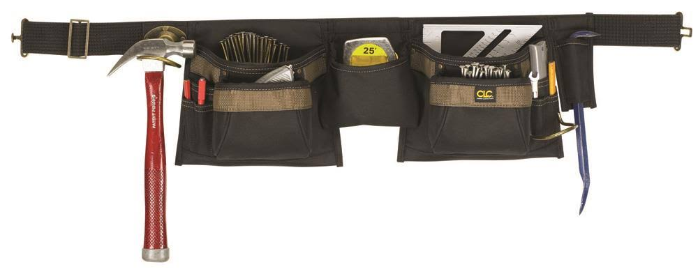Custom Leathercraft 1429 12 Pocket Tool Apron