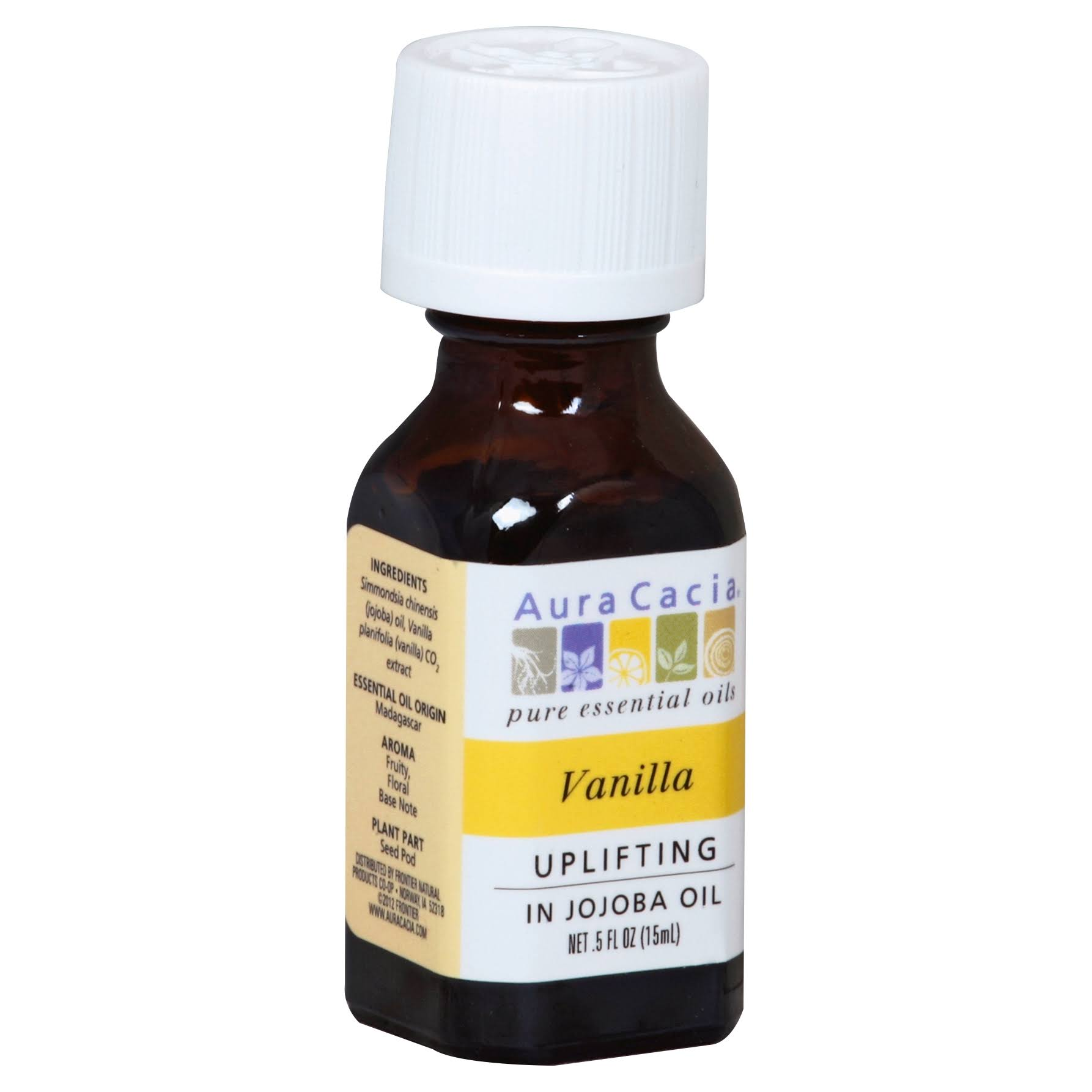 Aura Cacia Pure Essential Oil - Vanilla, 15ml