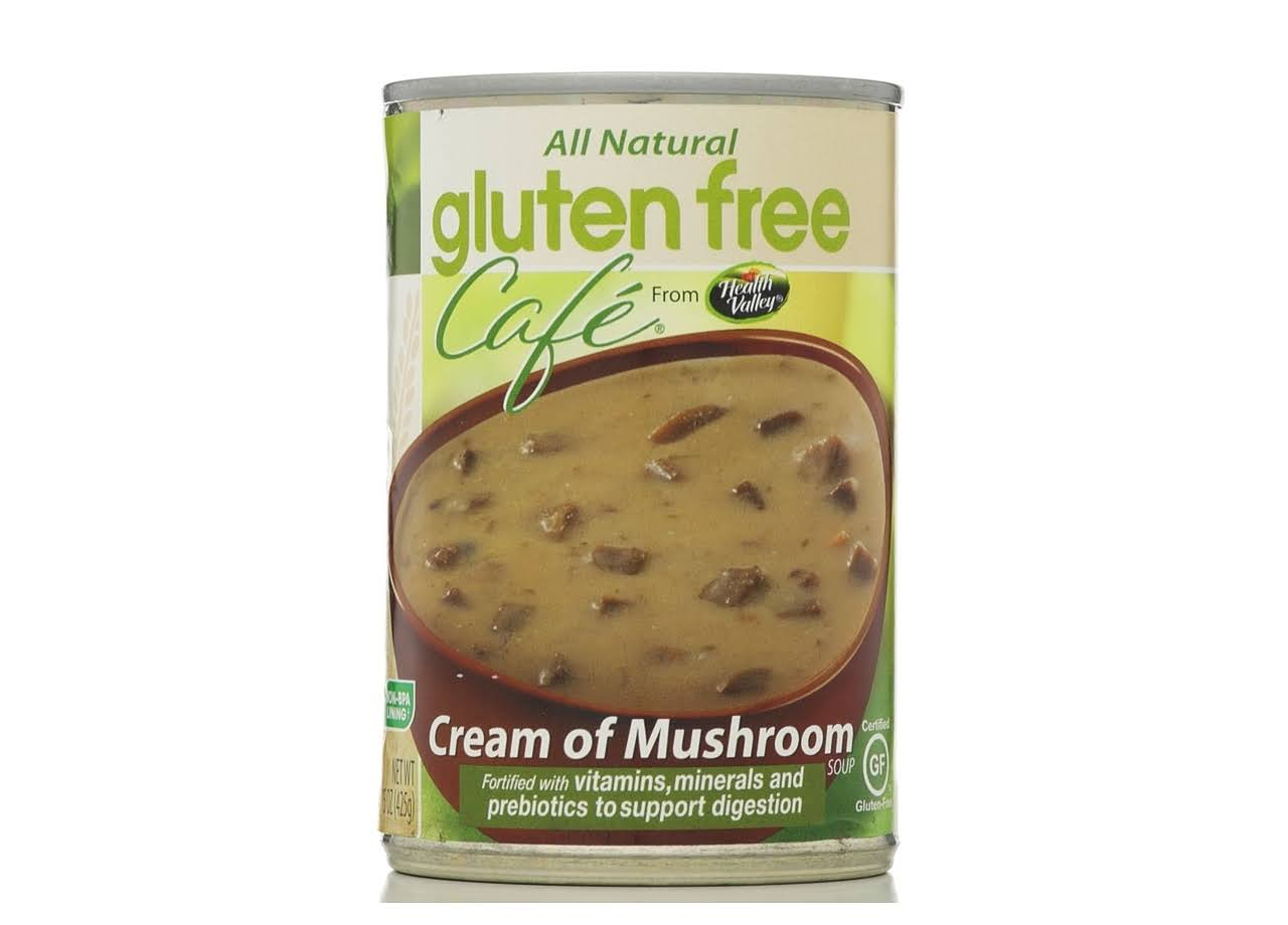 Gluten Free Cafe Soup - Cream Of Mushroom, 15oz