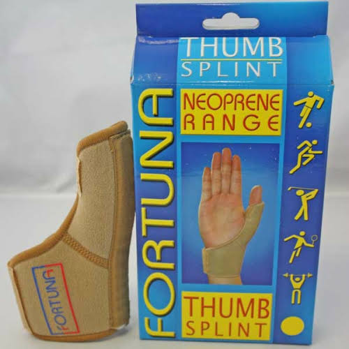 Fortuna Neoprene Thumb Splint Support - Large