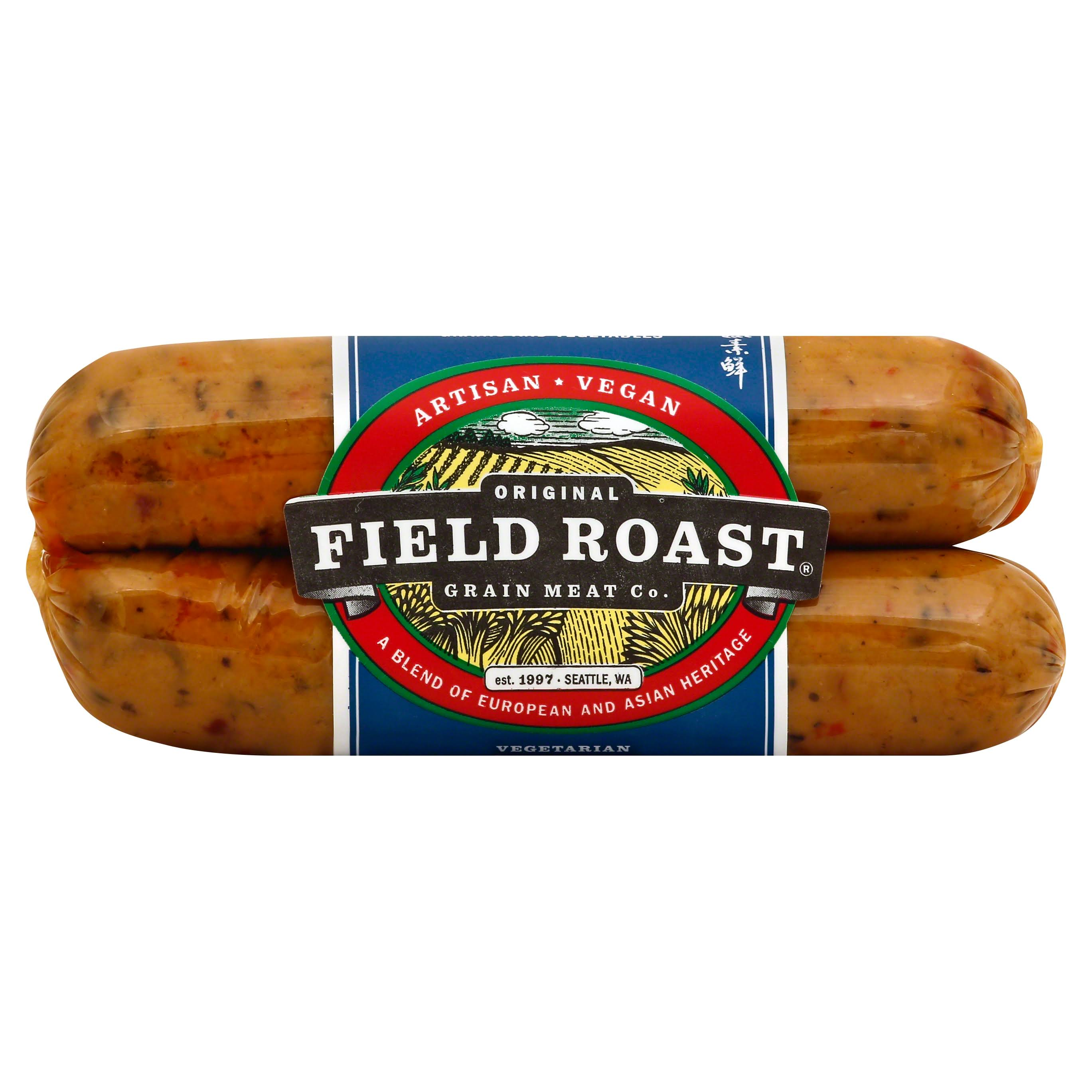 Field Roast Grain Meat Sausages, Vegetarian, Italian - 12.95 oz