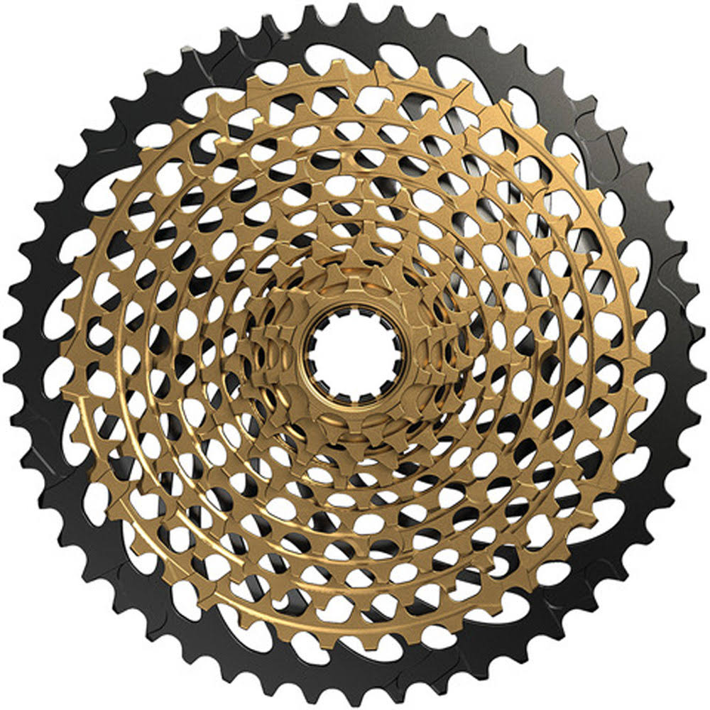 SRAM XX1 XG-1299 Eagle Cassette - 10-50T, 12 Speed, Gold