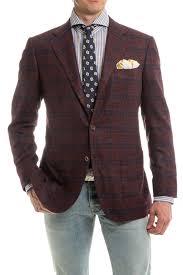 kiton donatello cashmere vicuña silk sport coat in burgundy axel u0027s