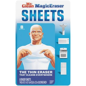 Mr. Clean Magic Eraser Sheets (8 Count)