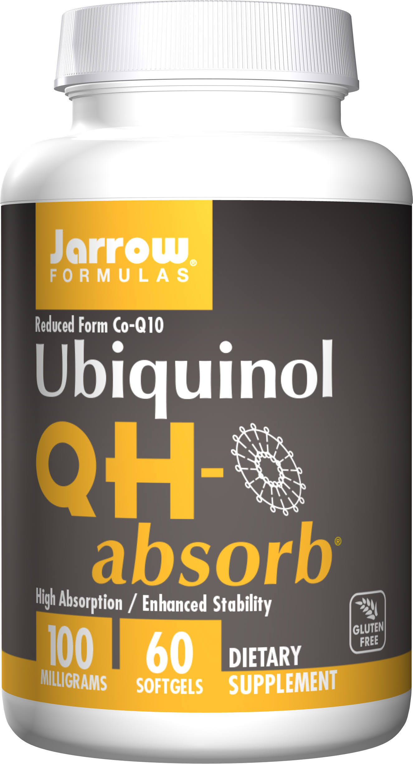 Jarrow Formulas Ubiquinol Qh Absorb - 100mg, 60 Softgels