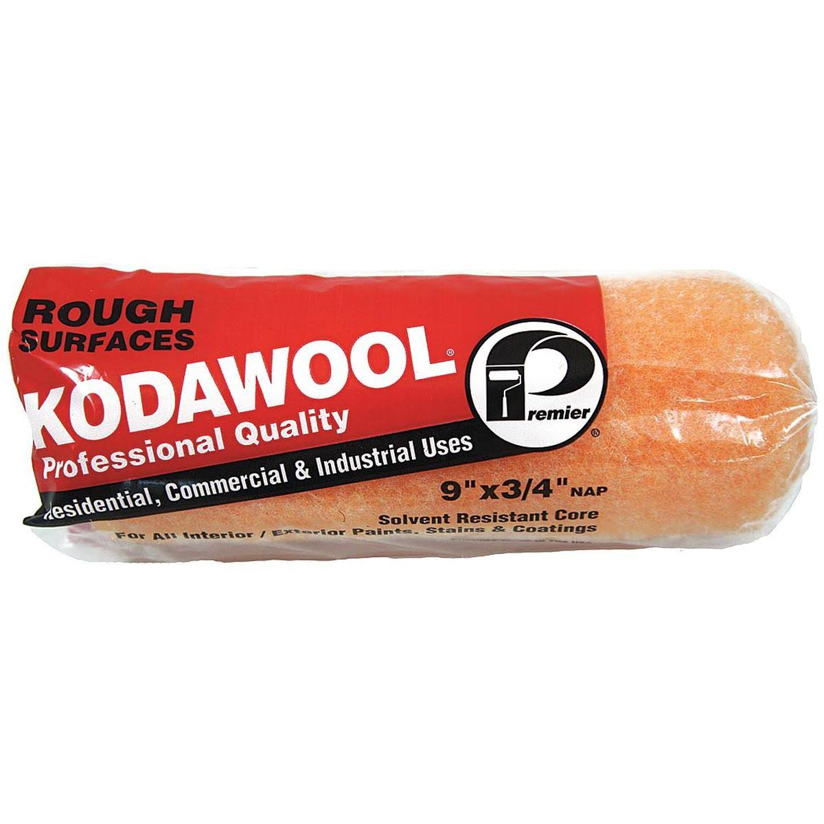 "Kodawool High Density Synthetic Blend Roller Cover - 9""x3/4"", 25pk"