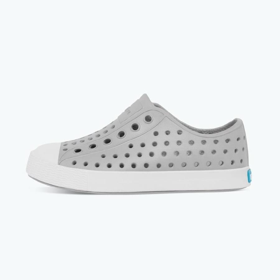 Native Junior Jefferson Shoe Pigeon Grey Shell White / 2