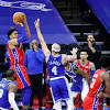 Tobias Harris dagger spoils wild rally as 76ers hand Lakers their first ...