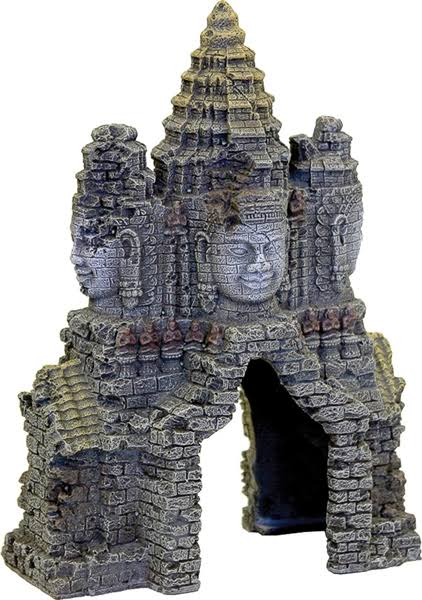 Blue Ribbon Pet Products Angkor Wat Temple Gate Ornament