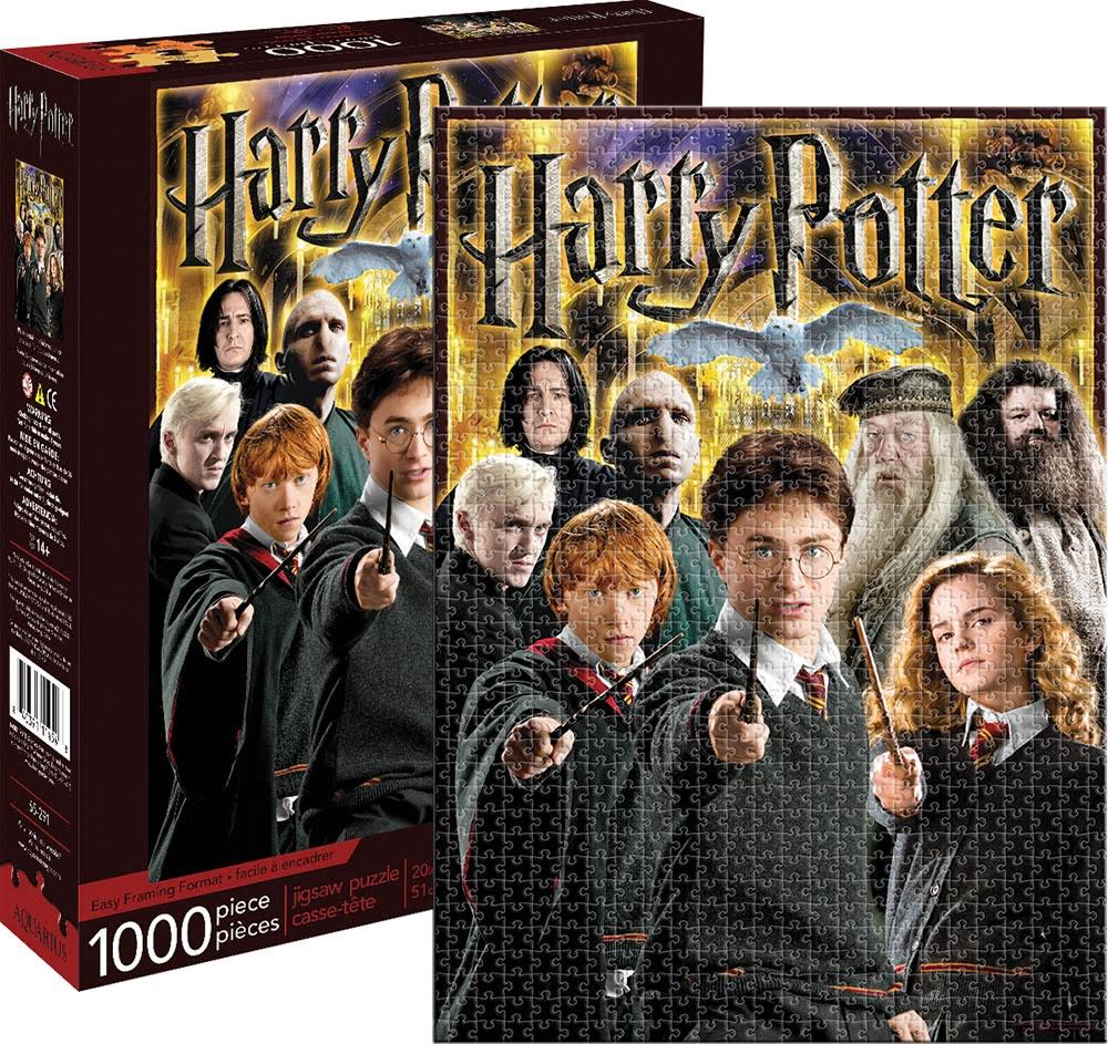 Aquarius Harry Potter Collage Puzzle - 1000pcs