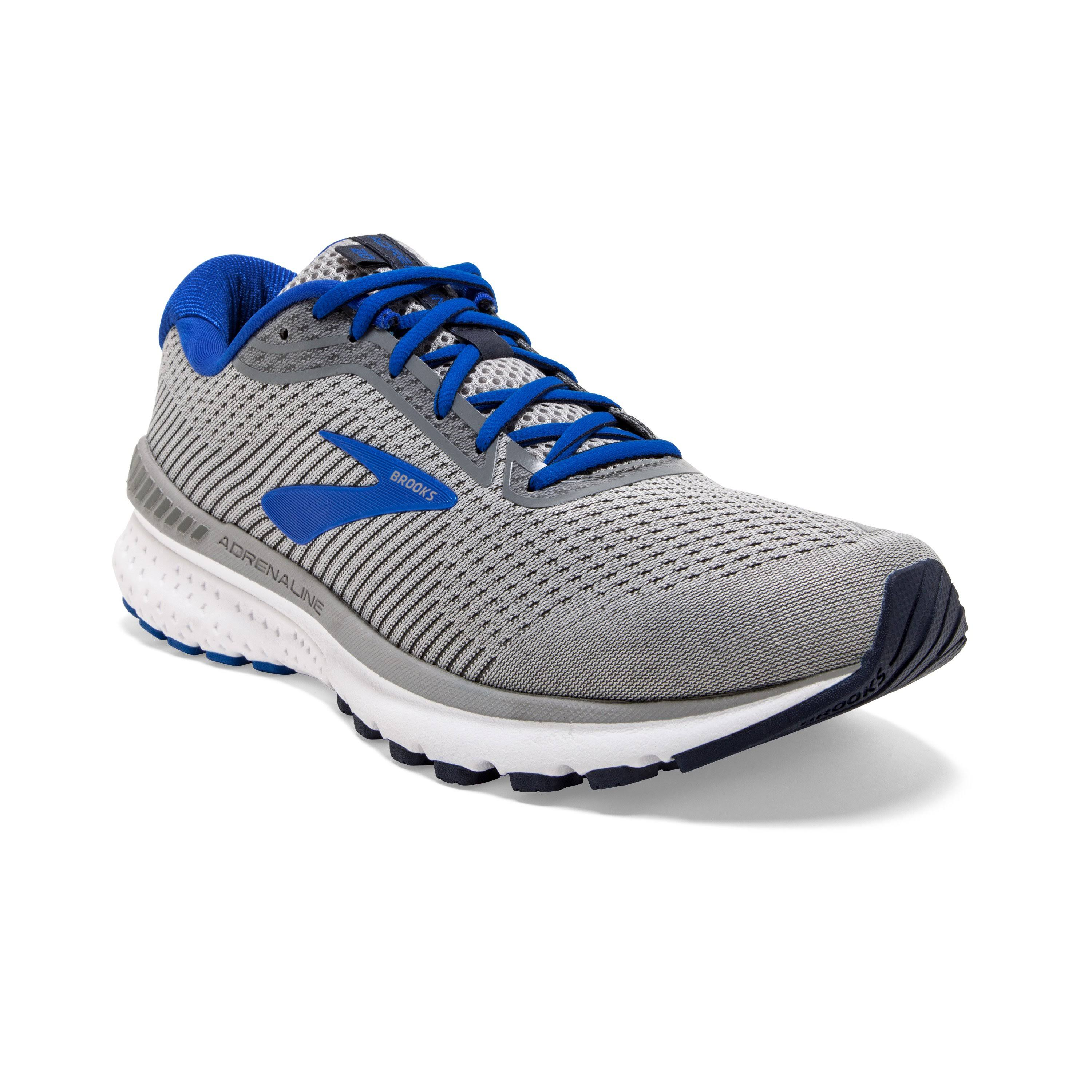 Brooks Adrenaline GTS 20 Men's Running Shoes Grey/Blue/Navy : 14 4E - Extra Wide