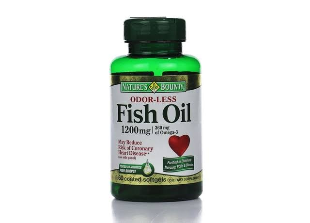 Nature's Bounty Odorless Fish Oil - 1200mg, 60ct