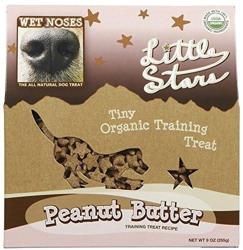 Wet Noses Little Stars Dog Treats - Peanut Butter