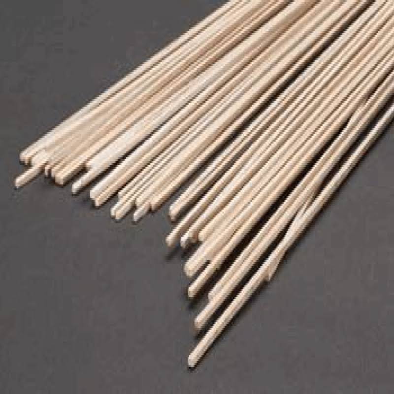 Balsa Wood 3/32 x 3/32 x 36in (24)