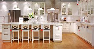 Ikea Dining Table And Chairs Glass by Luxurious White Wooden Ikea Kitchen Cabinets On Cool Brown
