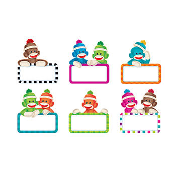 Trend Sock Monkey Signs Accents Variety Pack
