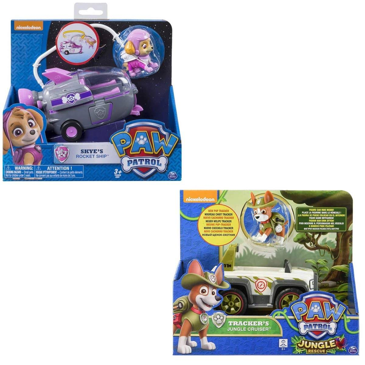 Paw Patrol Pups and Vehicle Assortment