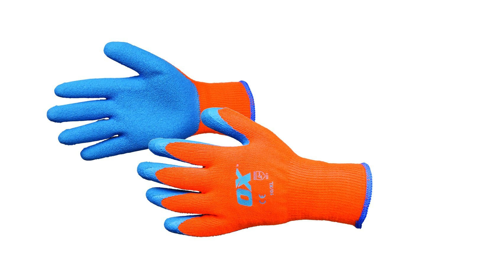 Ox Thermal Grip Gloves Size 10 (X Large)