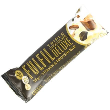 Fulfil Vitamin & Protein Bar - Triple Chocolate Deluxe, 55g