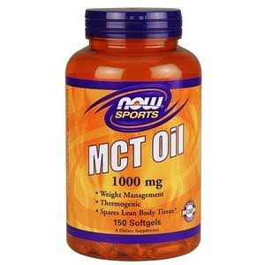 Now Sports MCT Oil - 100mg, 150 Softgels