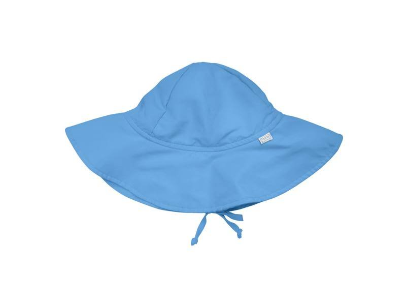 I Play Solid Brim Sun Protection Hat - Light Blue