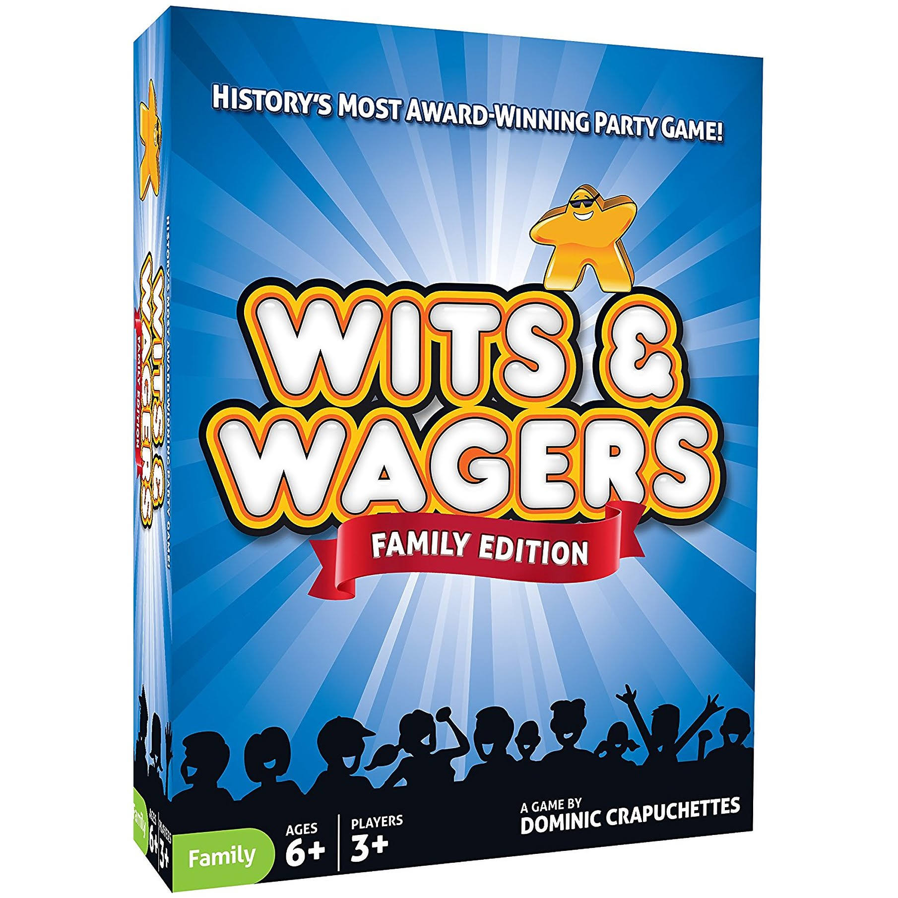 North Star Games Wits and Wagers Family Edition Board Game