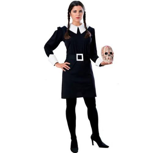 Wednesday Addams Adult Fancy Dress Costume