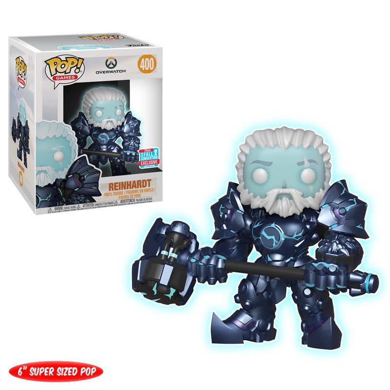 Funko Pop Overwatch Coldhardt Exclusive Vinyl Figure - Reinhardt