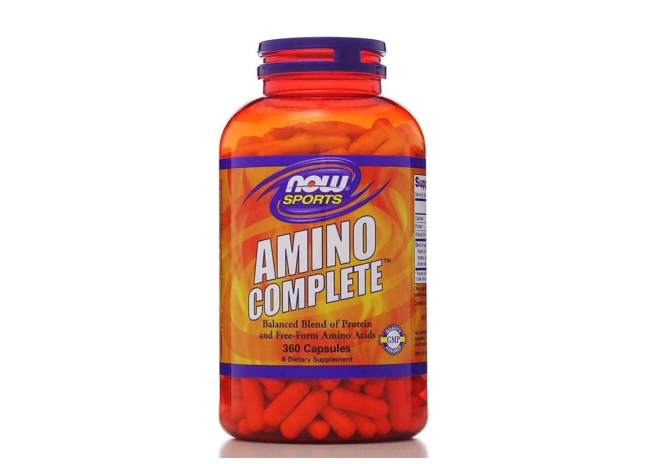 Now Foods Amino 750mg Complete Dietary Supplement - 360 Capsules