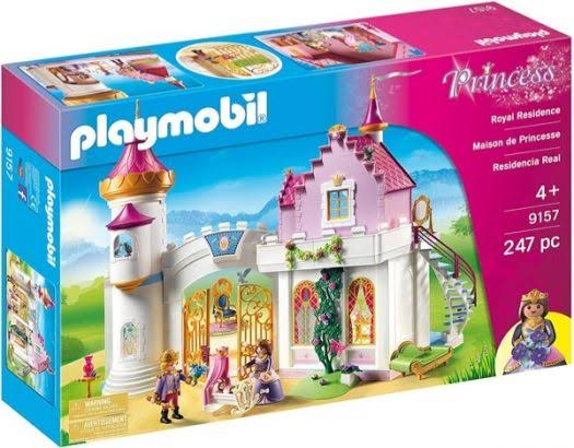 Playmobil 9157 Royal Residence Pretend Playset - Princess, 247pcs