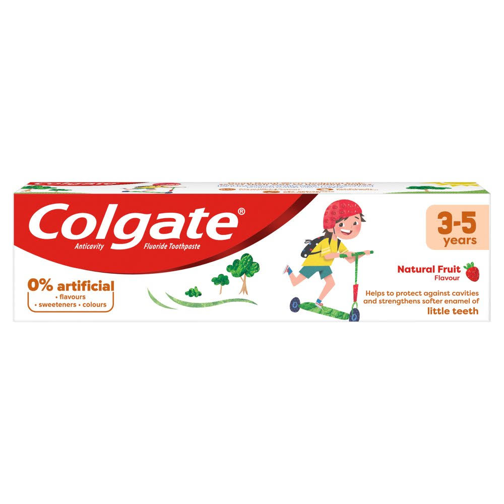 Colgate Kids Strawberry 3-5 Years Toothpaste