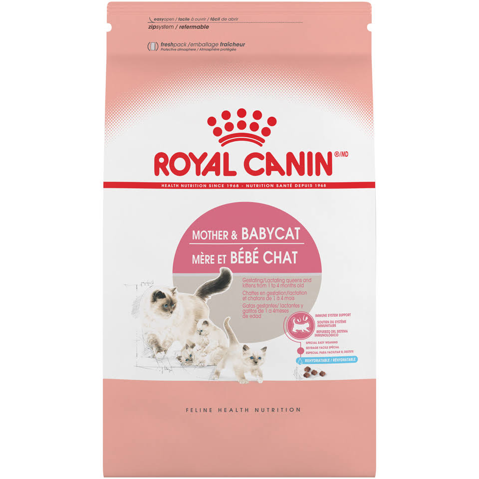 Royal Canin Feline Health Nutrition Mother & Babycat Dry Cat Food, 7-Pound