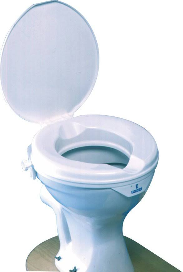 Prima Raised Toilet Seat with Lid - 50mm