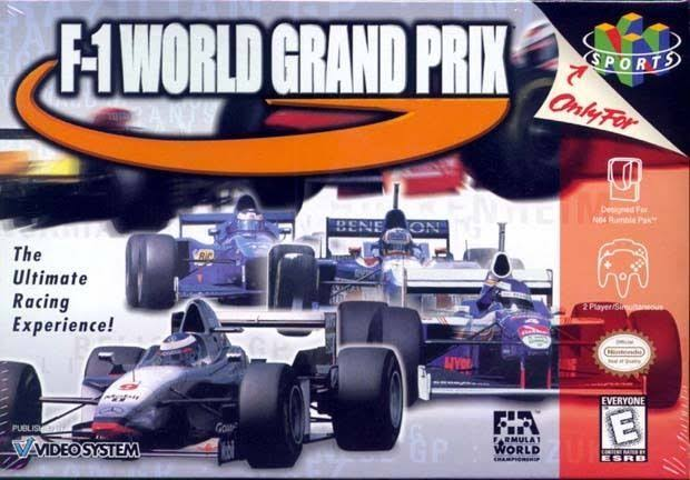 F 1 World Grand Prix Nintendo 64
