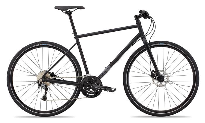 Marin Muirwoods 2019 Urban Bike - Satin Black, X-Large, 20""