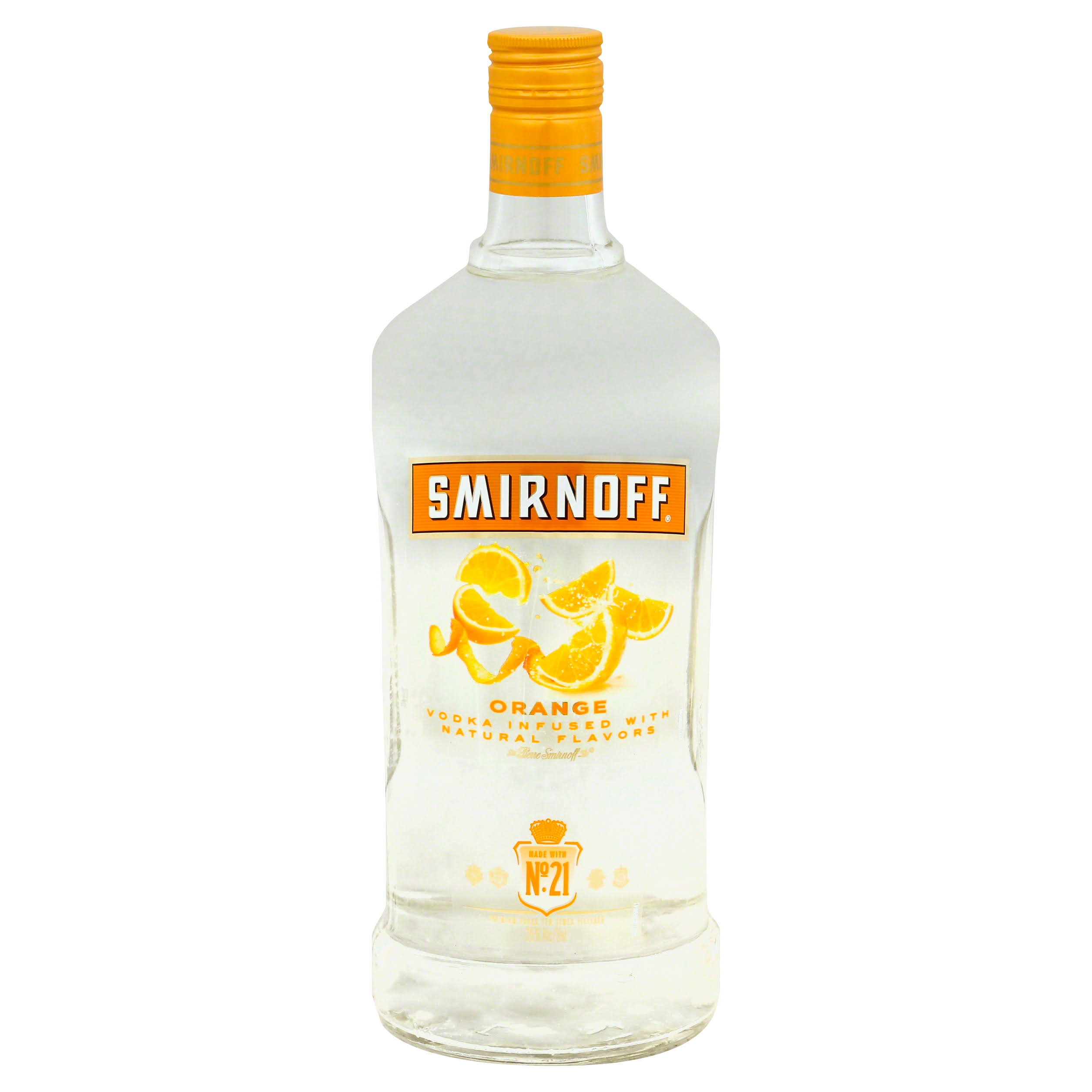 Smirnoff Twist of Orange Flavored Vodka - 1.75L