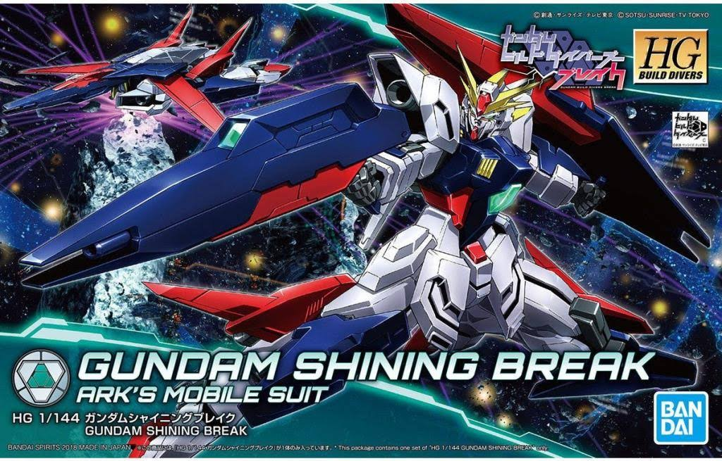 Gundam Shining Break Build Divers Bandai HGBD 1/144