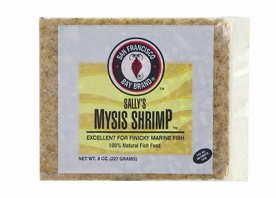 San Francisco Bay Brand Frozen Mysis Shrimp - 8oz