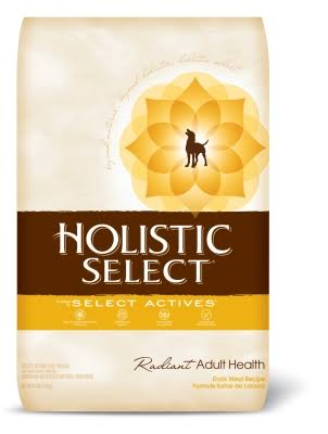 Holistic Select Radiant Adult Health Dry Dog Food - Duck Meal Recipe, 30 lb