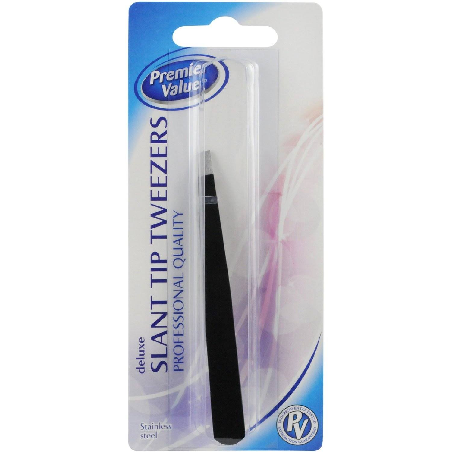 Premier Value Tweezers Stainless Steel - 1ct