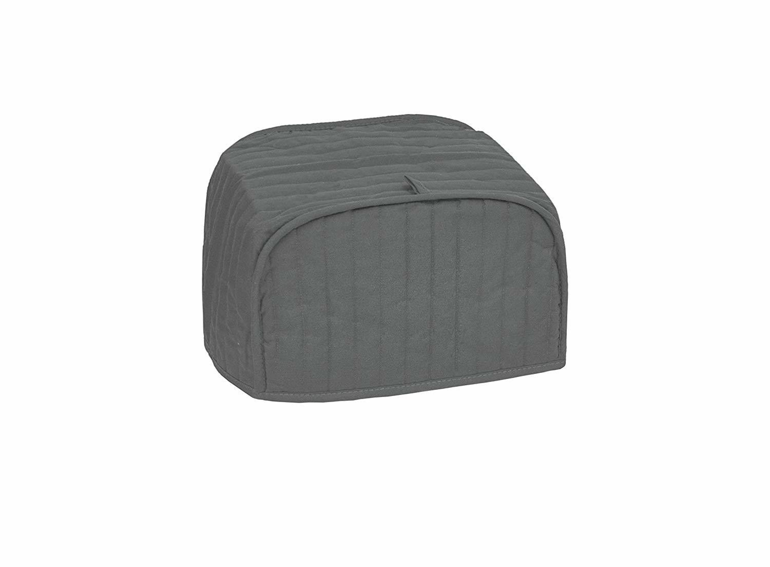 Ritz Quilted Two Slice Toaster Appliance Cover, Graphite
