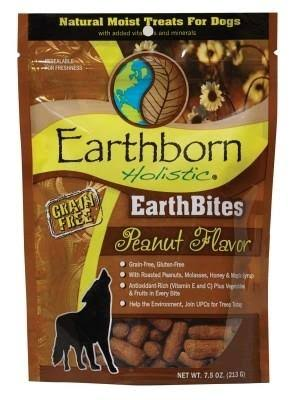 Earthborn Holistic Earthbites Dog Treat - Peanut, 7.5oz