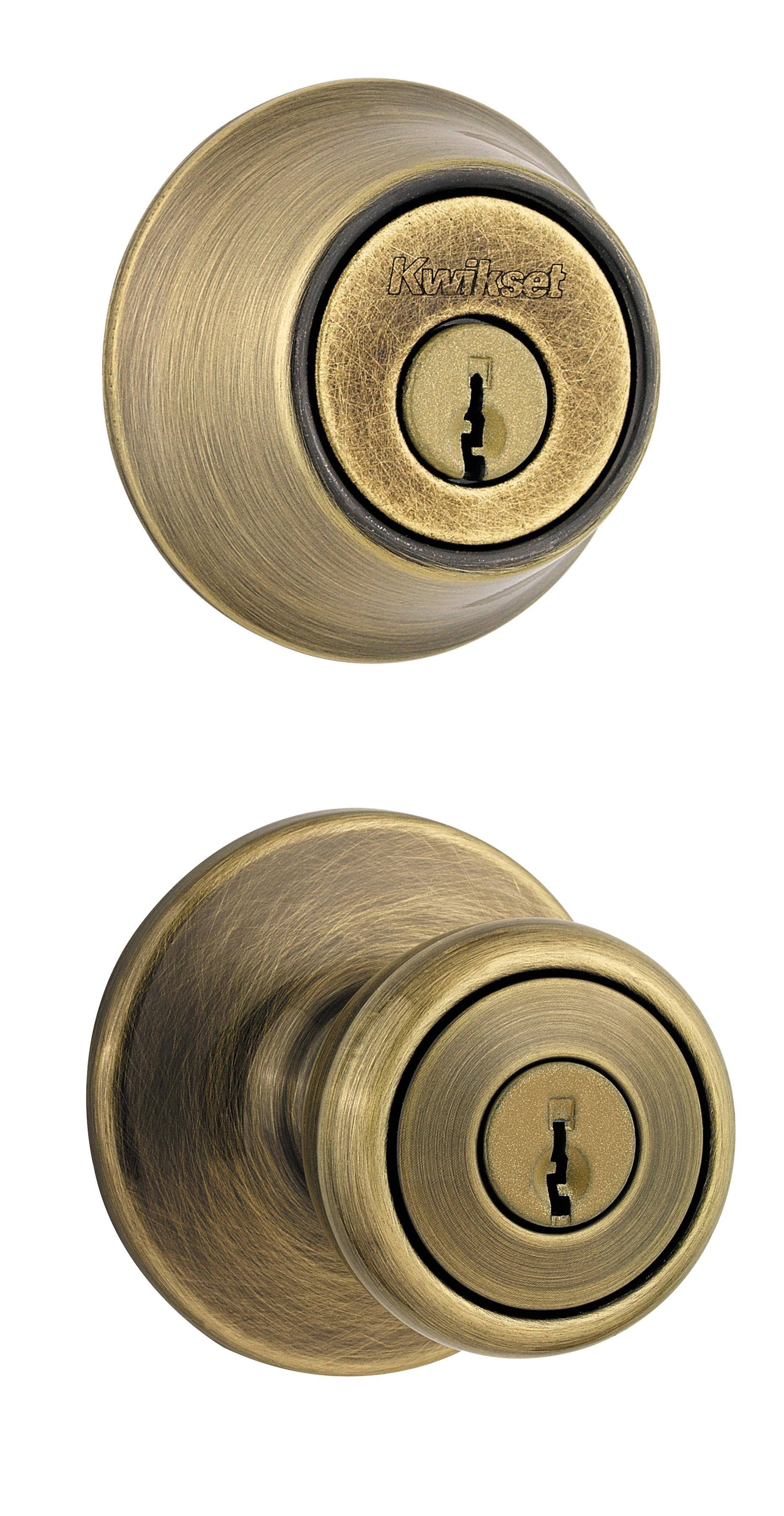Kwikset Tylo Combo Antique Brass