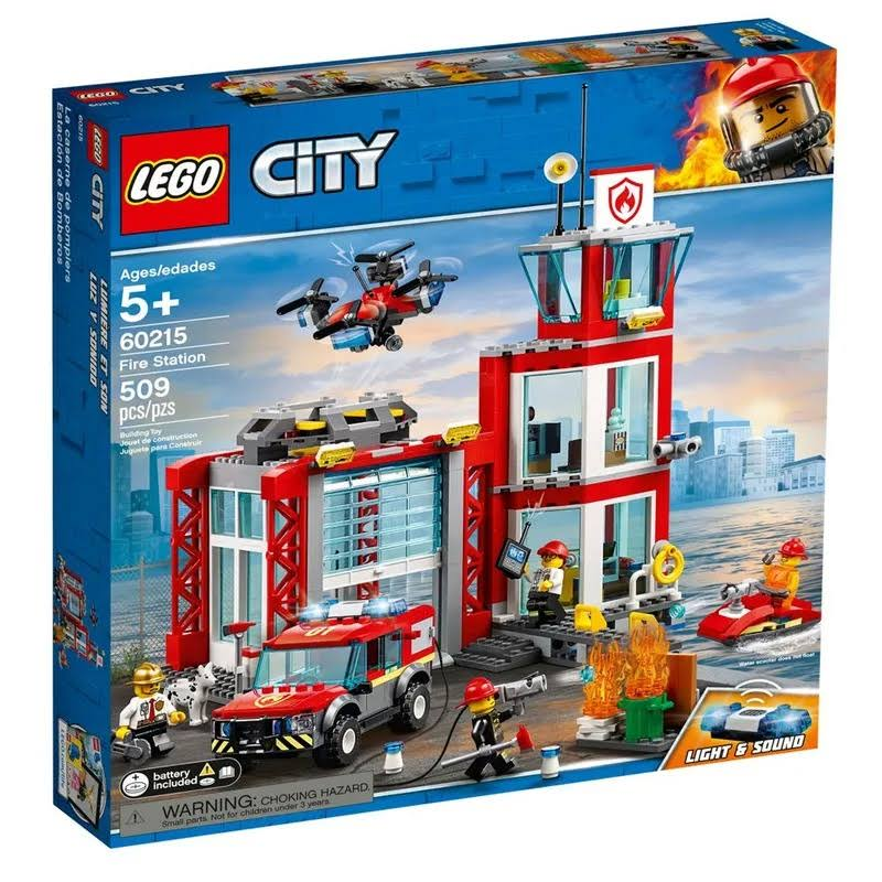 Lego City Building Toy, Fire Station