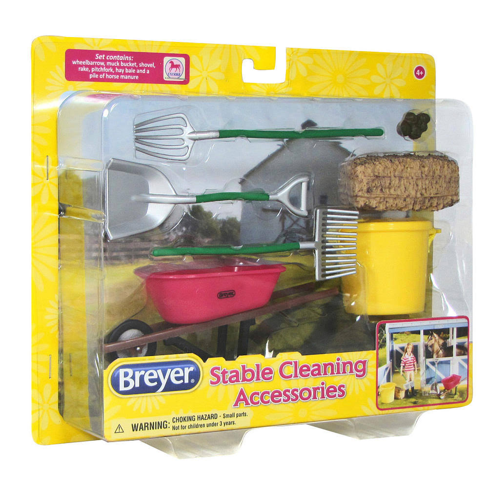 Breyer Stable Cleaning Set - 7 Pieces