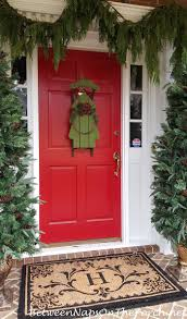 Frontgate Christmas Trees by Mongrammed Door Mat From Frontgate