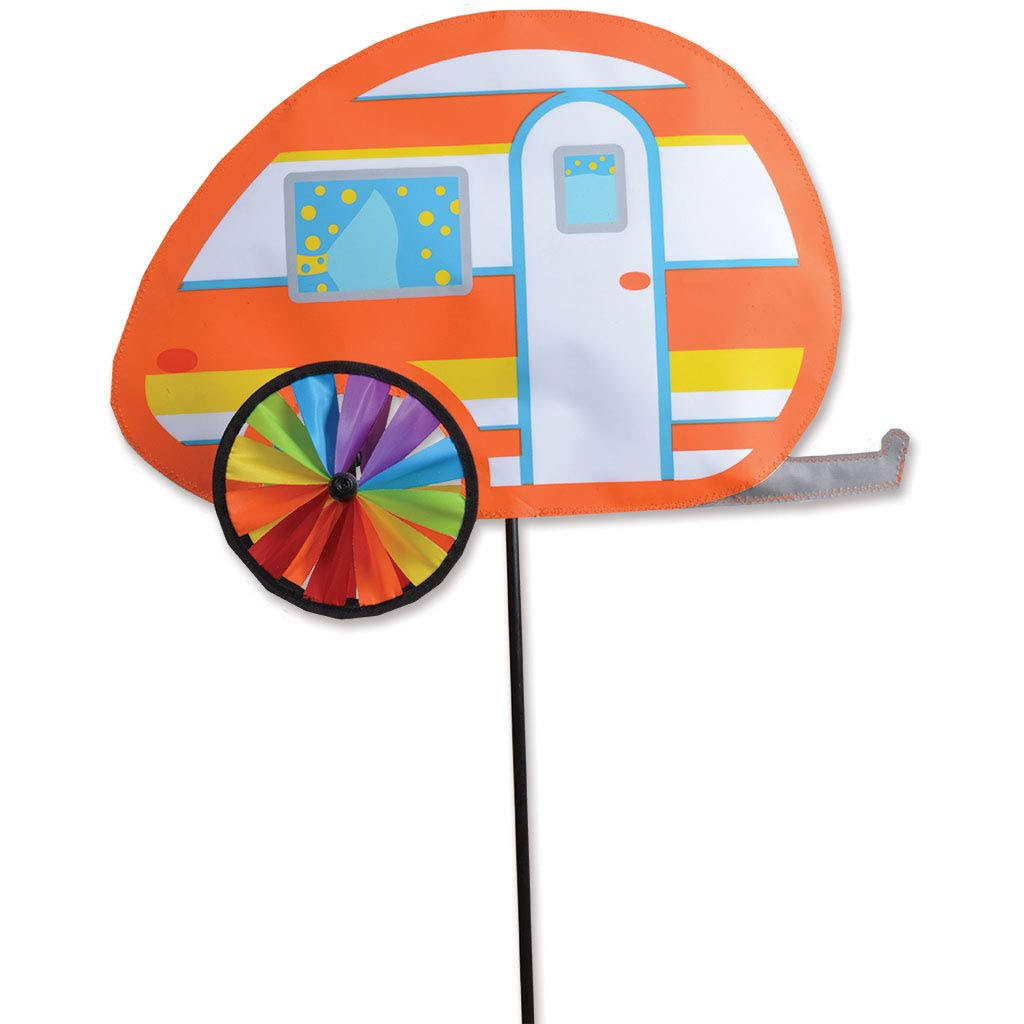 Premier Designs 19 in. Teardrop Camper Spinner