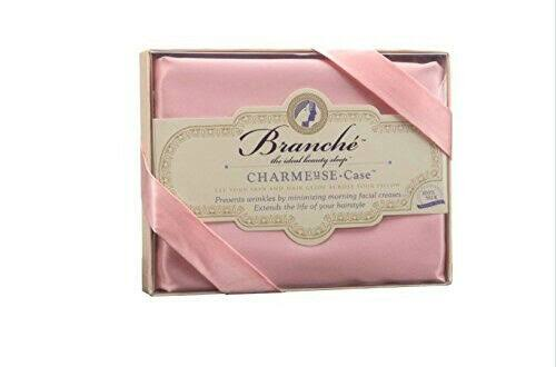 Branche Charmeuse Silk Pillow Slip Case - Blush, 50cm x 70cm